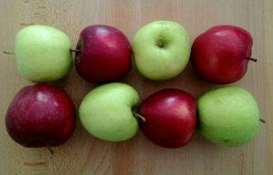 Μάφινς με μήλα χωρίς αυγά