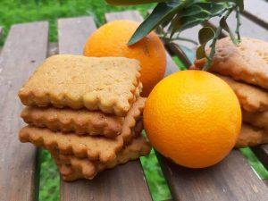 Νηστίσιμα Μπισκότα Πορτοκαλιού
