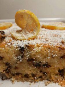 Κέικ Λεμονιού με σιρόπι